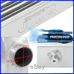 Universal 26X11X2.75 Tube & Fin Front Mount Fmic Intercooler Turbocharge JDM