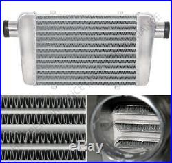 Universal 26 X 11 X 2.5 Inlet Tube & Fin Aluminum Front Mount Intercooler