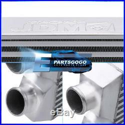 Universal 28X11X2.75 Tube & Fin Front Mount Fmic Same Side Intercooler Turbo