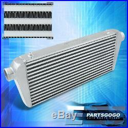 Universal 30.75 Big Front Mount Aluminum Intercooler FMIC High Flow T&F Upgrade