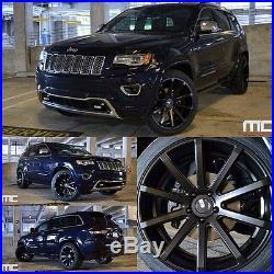 XO Luxury Tokyo 10,5x22 5x127 Felgen Jeep Grand Cherokee SRT Deep Concave Design